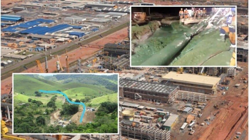 4 mil trabalhadores afastados; Petrobras paralisa parte das obras no Comperj e de gasoduto por determinação da prefeitura de Itaboraí