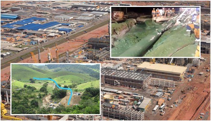 Itaboraí Petrobras Comperj Gasoduto Rota 3 Obras