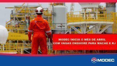 MODEC inicia o mês de abril em busca de Engenheiros para integrar seu time onshore em Macaé e RJ