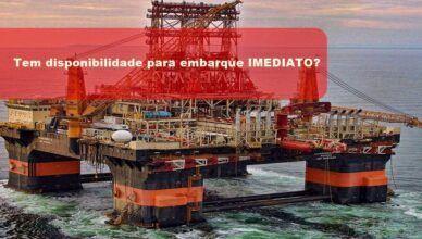 Vagas de emprego URGENTES e admissões IMEDIATAS para marítimos de Recife, Aracajú, Santos e Itajaí neste dia, 02 de abril