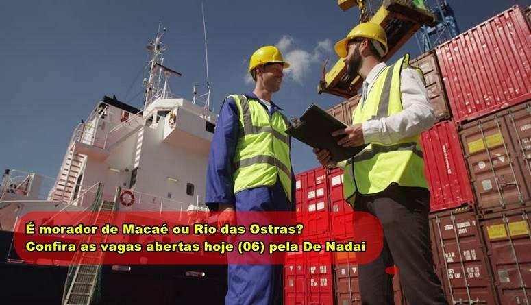 De Nadai inicia vagas de ensino fundamental e médio para profissionais de Macaé e Rio das Ostras hoje, 6 de abril