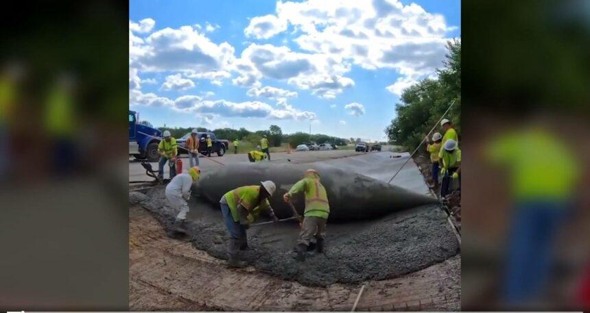 engenharia pavimentação-projeto concretagem eua