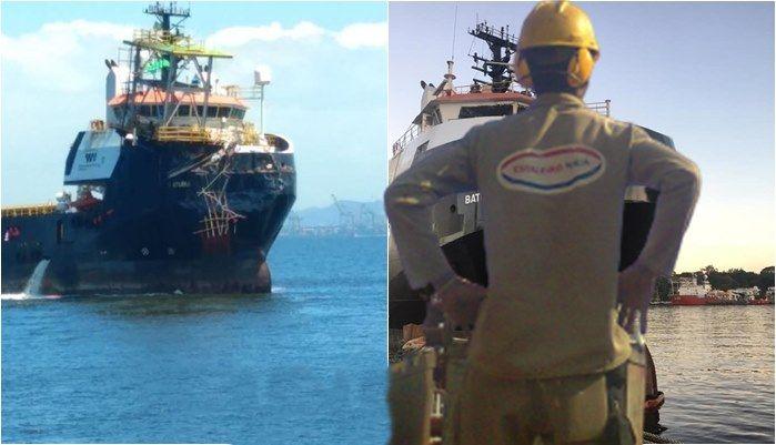 23 reparos naval Navio de apoio Batuira FPSO Petrobras Estaleiro Mauá Niteroi 13