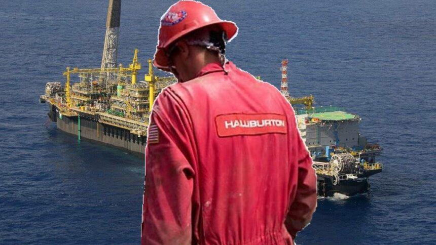 Halliburton empregos demissão EUA