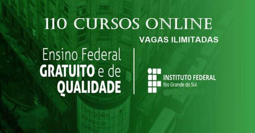Instituto Federal Do Rs Abre 110 Opcoes De Cursos Online E Gratuitos Vagas Ilimitadas Cpg Click Petroleo E Gas
