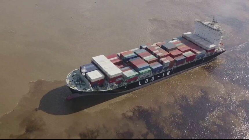Logistica navio Argentina Brasileira