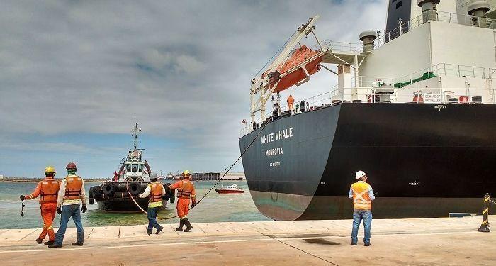 Ferroport está com vagas de emprego para operações no Porto do Açu em São João da Barra neste dia, 28 de maio