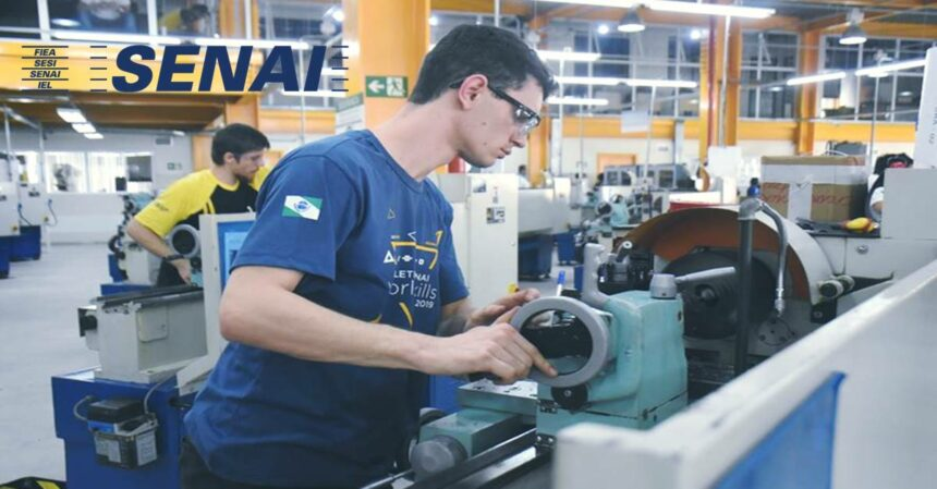 SENAI abre 26 mil vagas em cursos gratuitos de capacitação na construção civil, indústria, tecnologia entre outras