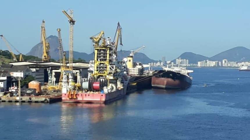 estaleiro Mauá Niterói Transpetro navio tanque