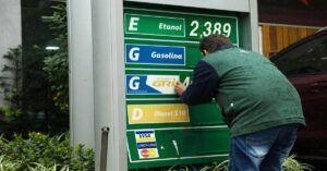 Petrobras aumenta o preço da gasolina pela segunda vez em uma semana
