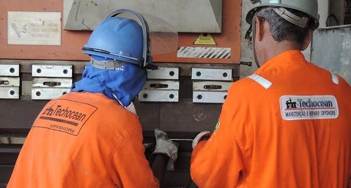 processo seletivo para vagas offshore em Macaé iniciado ontem (20) pela Techocean para Pintor