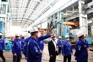 NUCLEP mantém as obras do reator do primeiro submarino nuclear brasileiro de vento em popa
