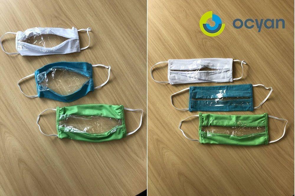 Ocyan - Máscaras inclusivas 4