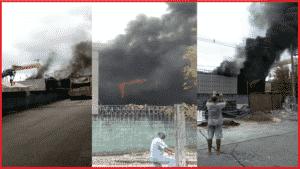 URGENTE! Incêndios atingem estaleiro Brasfels e Refinaria da Petrobras causa dos acidentes-min