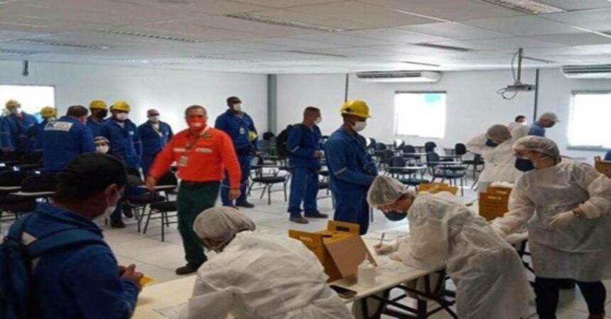 Comperj: Petrobras adota testagem para Covid-19 em mais de 4 mil trabalhadores das obras do GasLub, em Itaboraí – RJ