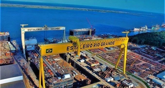 Estaleiro Ecovix e chilena Asmar vão construir navio de apoio para a Marinha do Brasil
