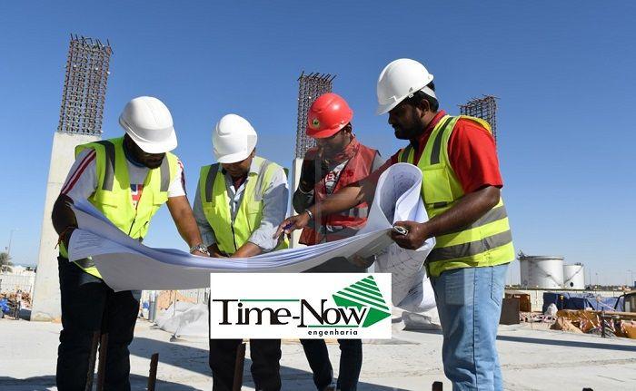 time now engenharia, obras, industriais, engenharia