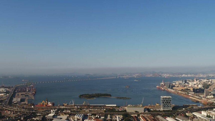 CDRJ Porto do Rio de Janeiro Exportações Ferro Trigo
