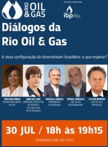 Diálogos do Rio Oil and Gas 30 de julho de 2020
