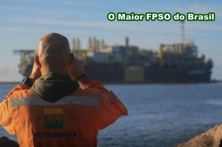 Petrobras FPSO Búzios O Maior FPSO no Brasil
