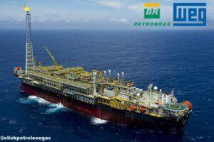 Petrobras WEG FPSO PLATAFORMAS MOTORES TURBO