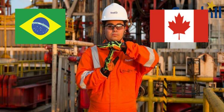 Vagas de emprego para trabalhar no Canadá e Rio de Janeiro em contratos offshore na líder de perfuração em águas profundas, Seadrill