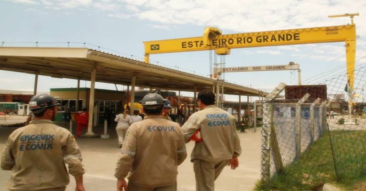 Estaleiro Ecovix vai gerar cerca de 5 mil vagas de emprego com a construção do navio POLAR para a Marinha do Brasil