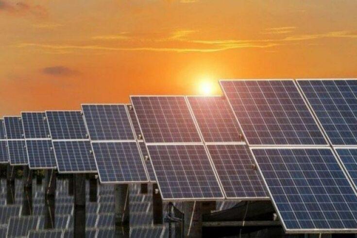 Energia solar - Parque de energia solar - energia renovável