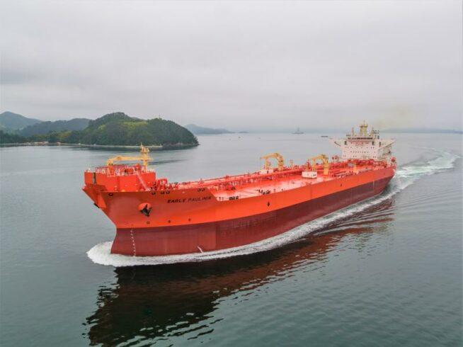 Navio-tanque Eagle Paulinia se junta à frota da AET para afretamento pela Petrobras