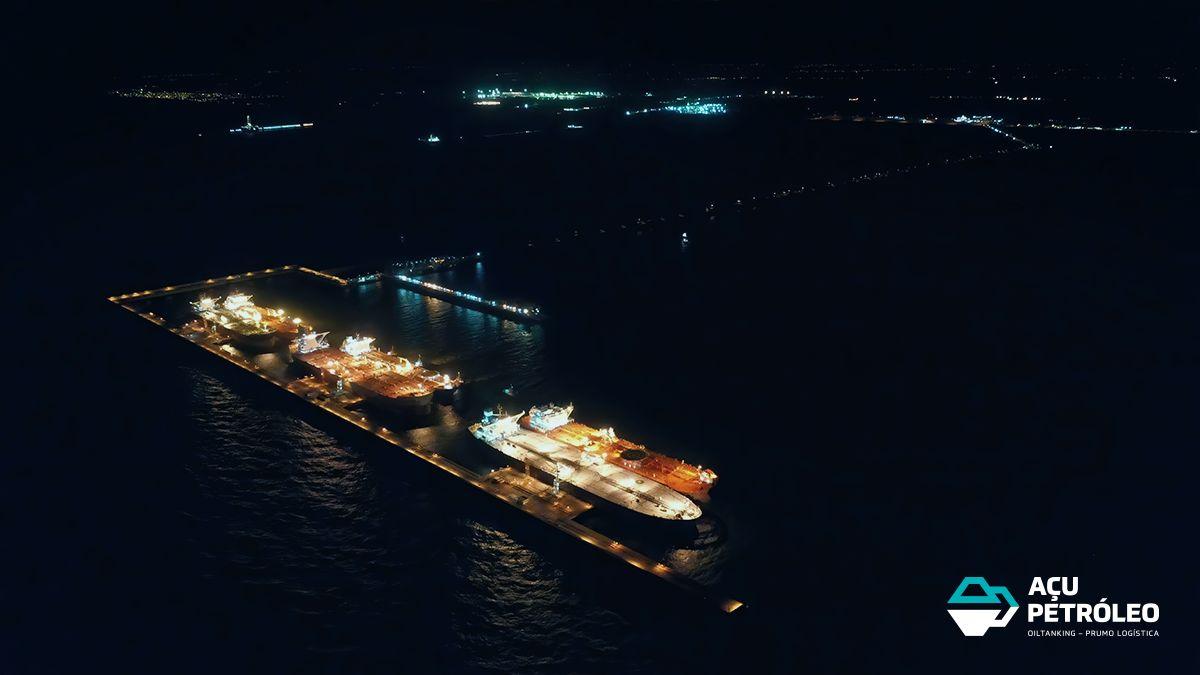 Porto do Açu - Açu petróleo - petróleo