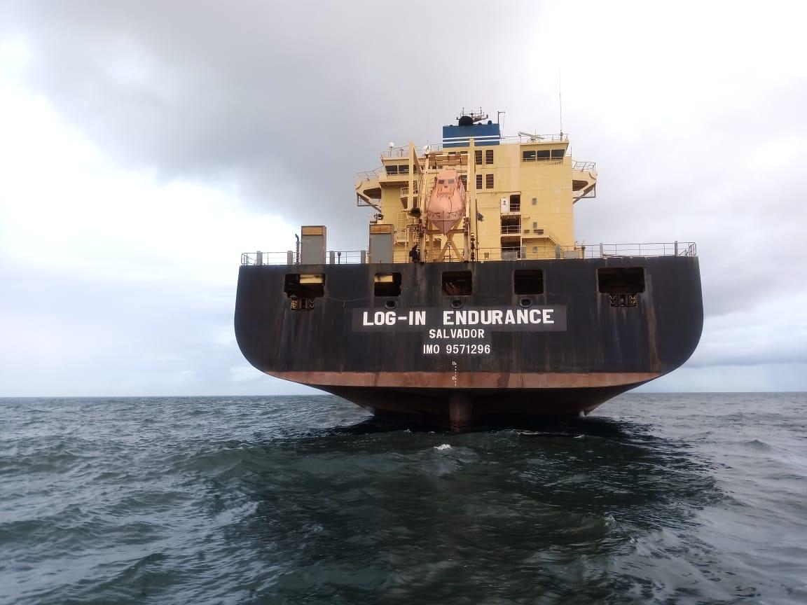 Log-In Endurance cabotagem navios logística