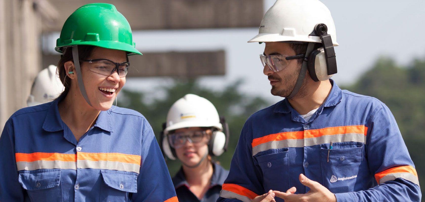 Técnico, soldador, operador e mais profissionais são requisitados para vagas de emprego pela mineradora Anglo American hoje, 26 de agosto