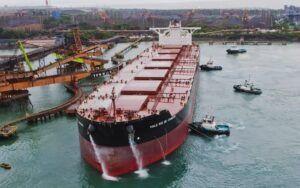 Vale expande exportações de minério de ferro para a China pelo Maranhão