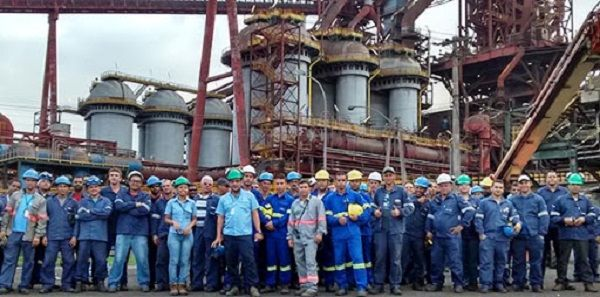 Obras vagas de emprego Paul Wurth Juiz de Fora MG Minas Gerais ArcelorMittal obras
