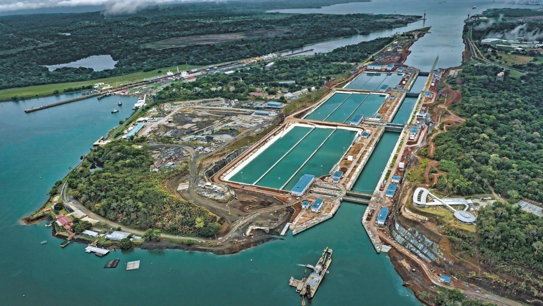 Reaquecimento do comércio global é demonstrado pela alta do fluxo de navios no Canal do Panamá