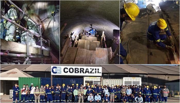 Usina siderúrgica RJ Ternium parada de manutenção Cobrazil