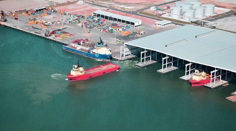 Porto do Açu - Óleo e gás - offshore