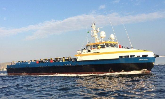 Cadastro de currículo para vagas marítimas anunciadas pela empresa brasileira de navegação Baru Offshore, neste dia 25
