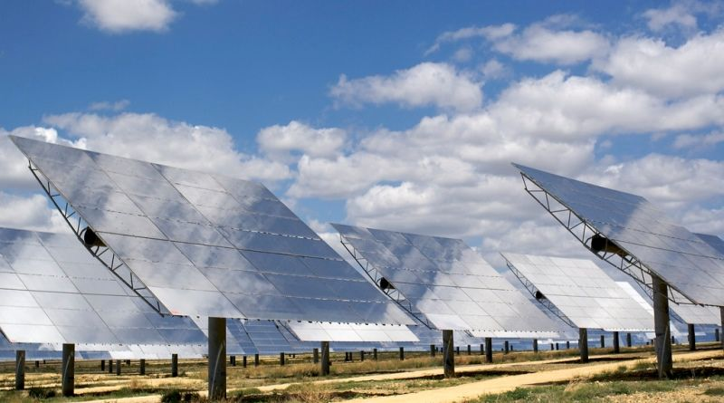 construção de complexo de energia solar em Minas Gerais