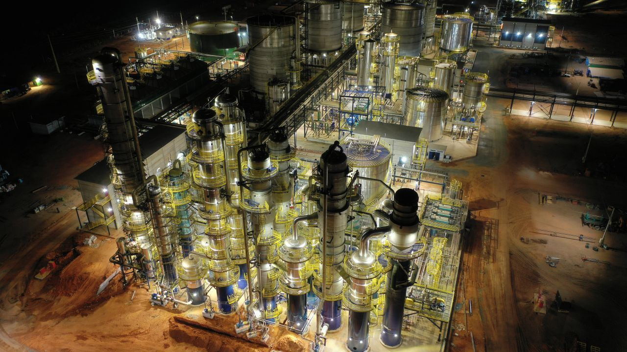 Usina de etanol de milho Inpasa (MT)