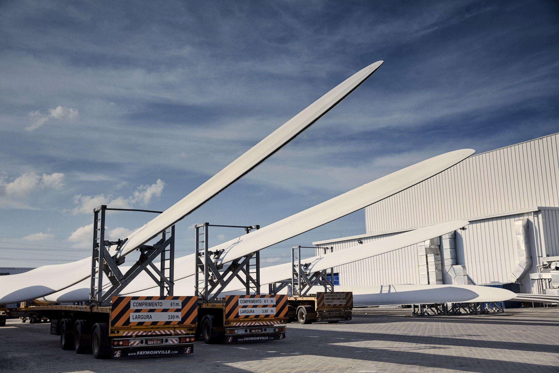 Porto de pecém - Aeris energy - pás eólicas