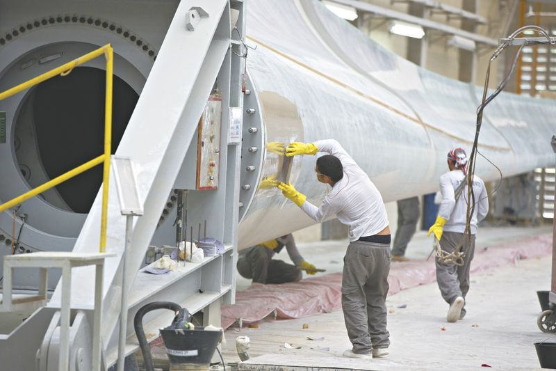 vagas de emprego de energia eólica aeris ceará