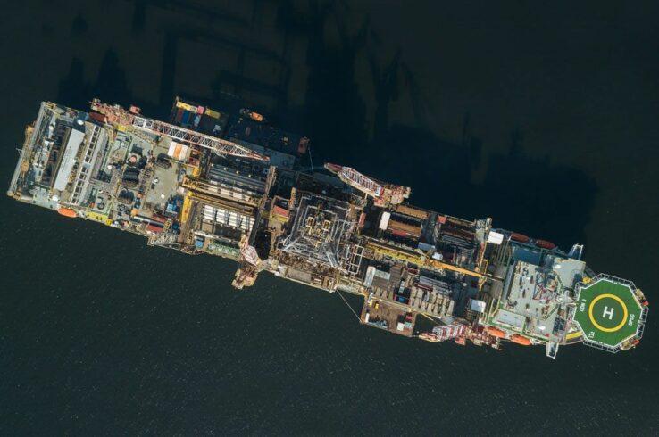 plataformas de petróleo da ocyan que opera para a Petrobras no pré-sal