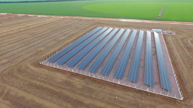 energia solar - energia renovável - Valmont