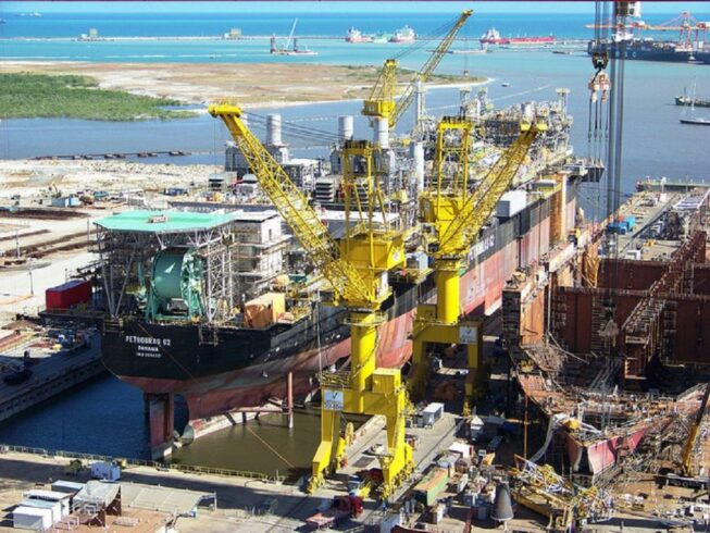 Construção naval projetos estaleiros 2020 economia