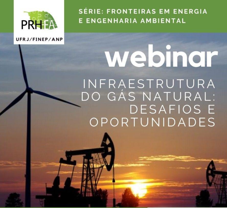 Escola Politécnica e a Escola de Química da UFRJ webnar gás natural 2