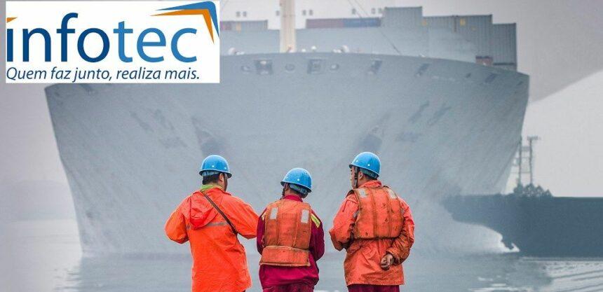 Infotec Brasil vagas offshore Macaé Marítimos
