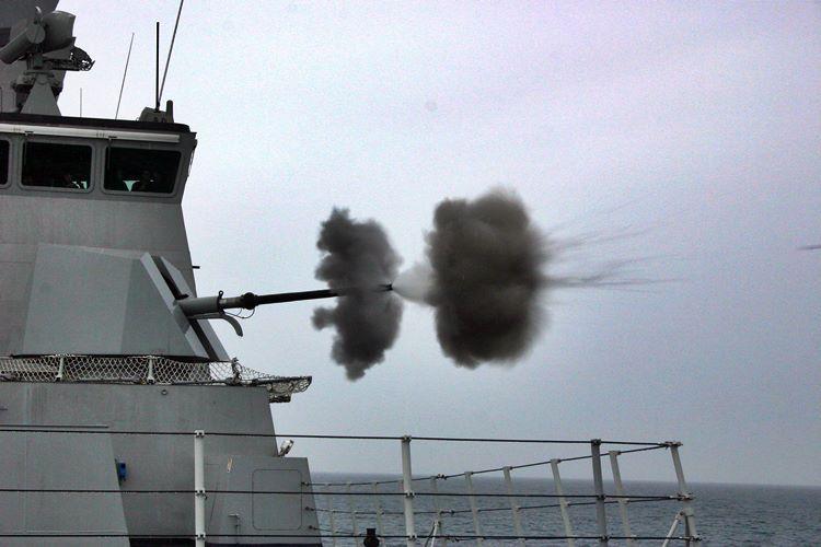canhão naval para as fragatas marinha do brasil em Itajaí