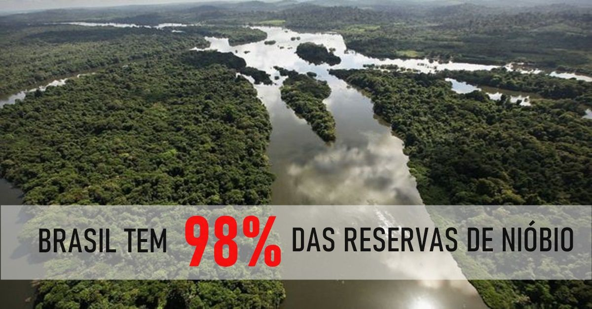 NIÓBIO - AMAZÔNIA - INDÍGENAS - AMAZONAS