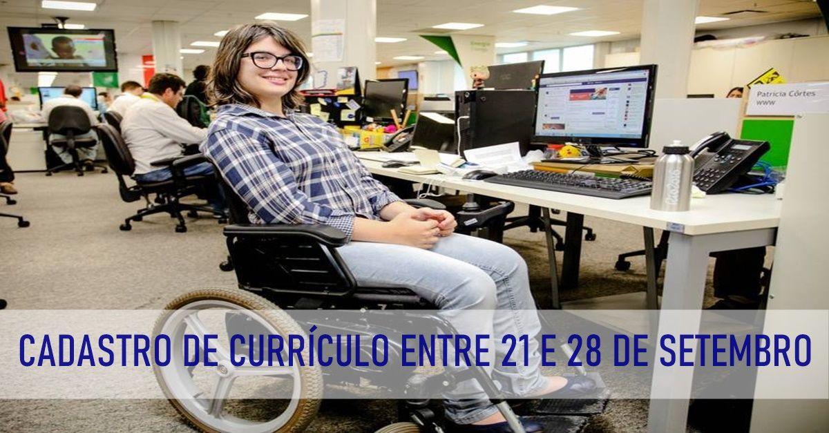 vagas de emprego - Pessoa com Deficiência - PCD